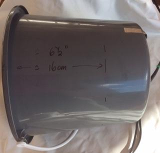 Bucket first markings